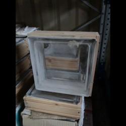 Carreaux de verre. ep 80 mm