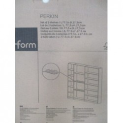 Placard  - 2 tablettes (77,5 x 27,5 cm)