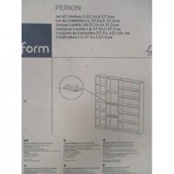 Placard  - 2 tablettes (57,5 x 27,5 cm)