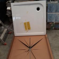 Receveur douche blanc 100x100 cm