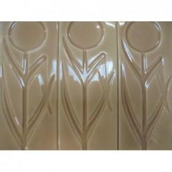 Carreaux rectangulaires motifs fleur (6.50 x 20...
