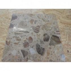 Dalles de marbre - (40 x 40) Lot de 8 pièces