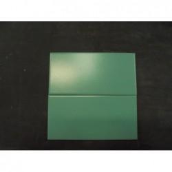 Faïence bleu/vert ( 10 x 20) Lot de 1 m²