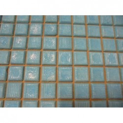 Mosaique en plaque (50x50) bleu (Lot de 4,25 m²)