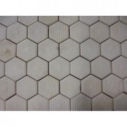 Mosaique en plaque (50x50) blanc - 3 motifs...