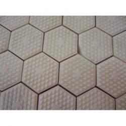 Mosaique en plaque (50x50) Beige (Lot de 2 m²)