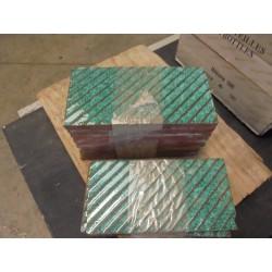 Faïence strié verte - (7.30 x 20) Lot de 0,6 m²
